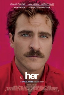 "Movie poster for ""Her."" Found on Google images."