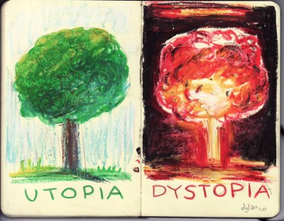 Photo Credit: http://dylanglynn.blogspot.com.au/2010/07/utopia-dystopia.html