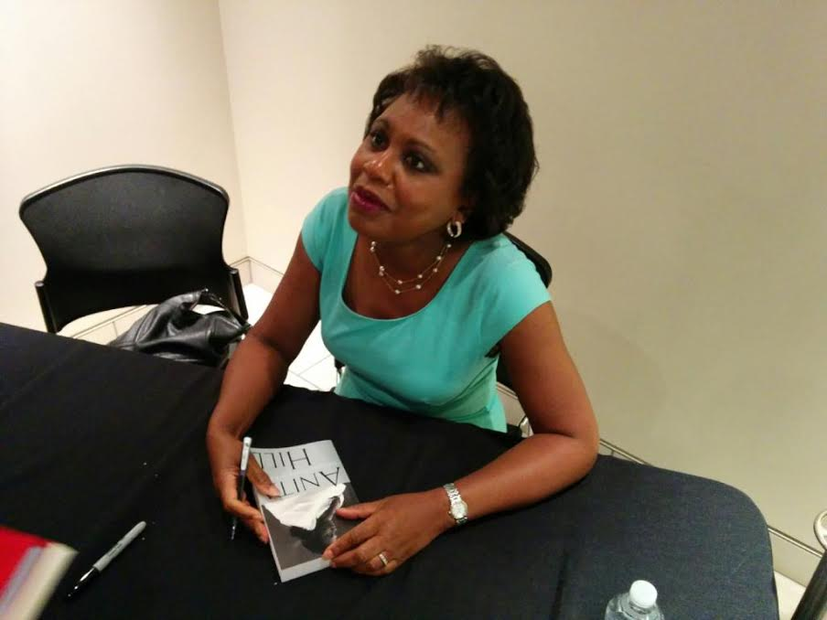 Anita Hill Married Anita Hill Signing my Book