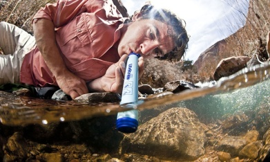 Photo courtesy of Groupon and Lifestraw Personal Water Filter